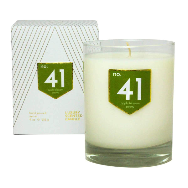 ACDC Candle Co Candles No. 41 Apple Peony Scented Soy Candle