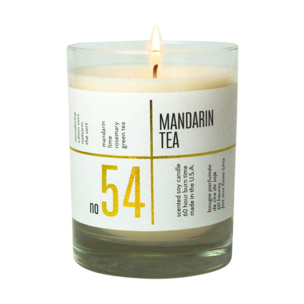 ACDC Candle Co Candles No. 54 Mandarin Tea Scented Soy Candle