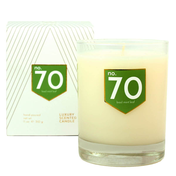 ACDC Candles No. 70 Basil Mint Scented Soy Candle