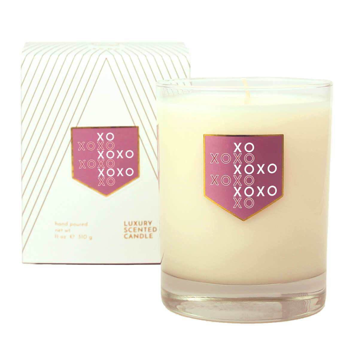 ACDC Candles XOXO Love and Kisses Scented Soy Candle