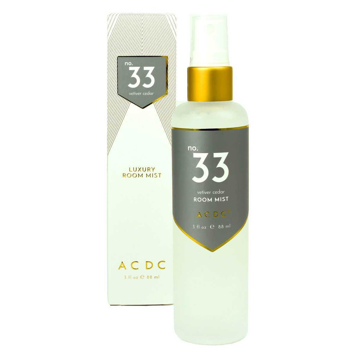 ACDC Room Sprays No. 33 Vetiver Cedar Room Mist