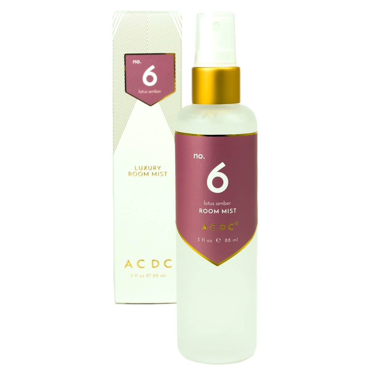 ACDC Room Sprays No. 6 Lotus Amber Room Mist