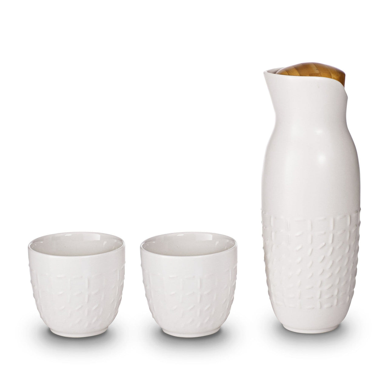 Acera Liven Coffee & Tea Accessories White Footprint Carafe Without Handles Set