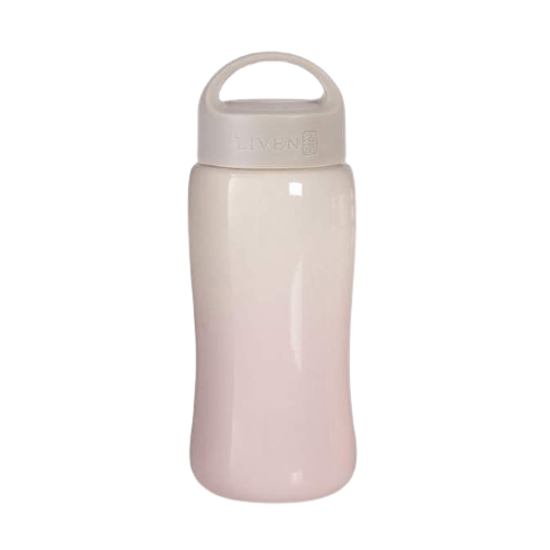 Acera Liven Cups & Mugs Pink Ombre Joy & Harmony Travel Mug