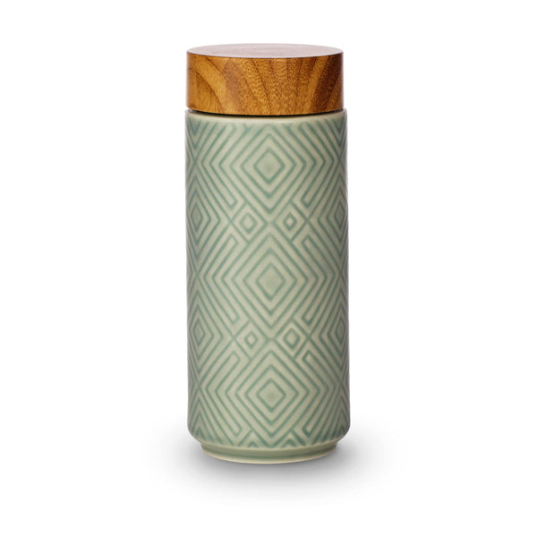 Acera Liven Flasks & Water Bottles Mint Green The Miracle Ceramic Tumbler