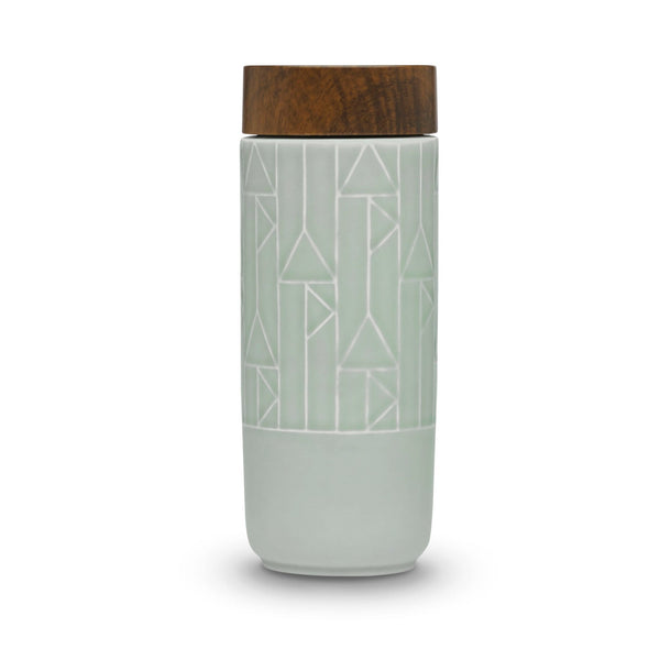 Acera Liven Flasks & Water Bottles Mint Green / Vertical The Alchemical Signs Ceramic Tumbler