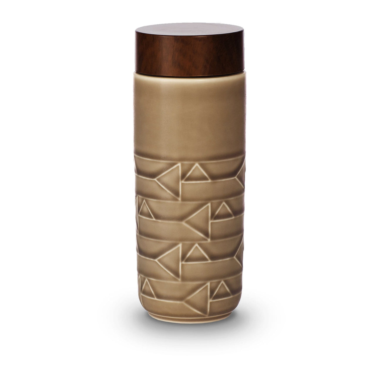 Acera Liven Flasks & Water Bottles Mocha Brown / Horizontal The Alchemical Signs Ceramic Tumbler