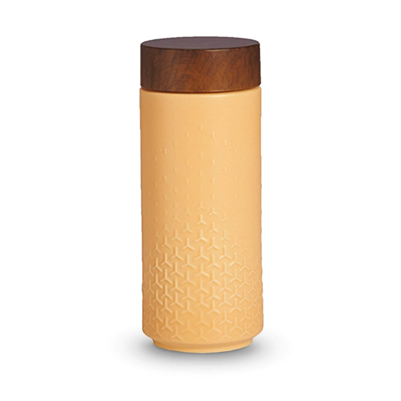 Acera Liven Flasks & Water Bottles Orange Privity Ceramic Tumbler