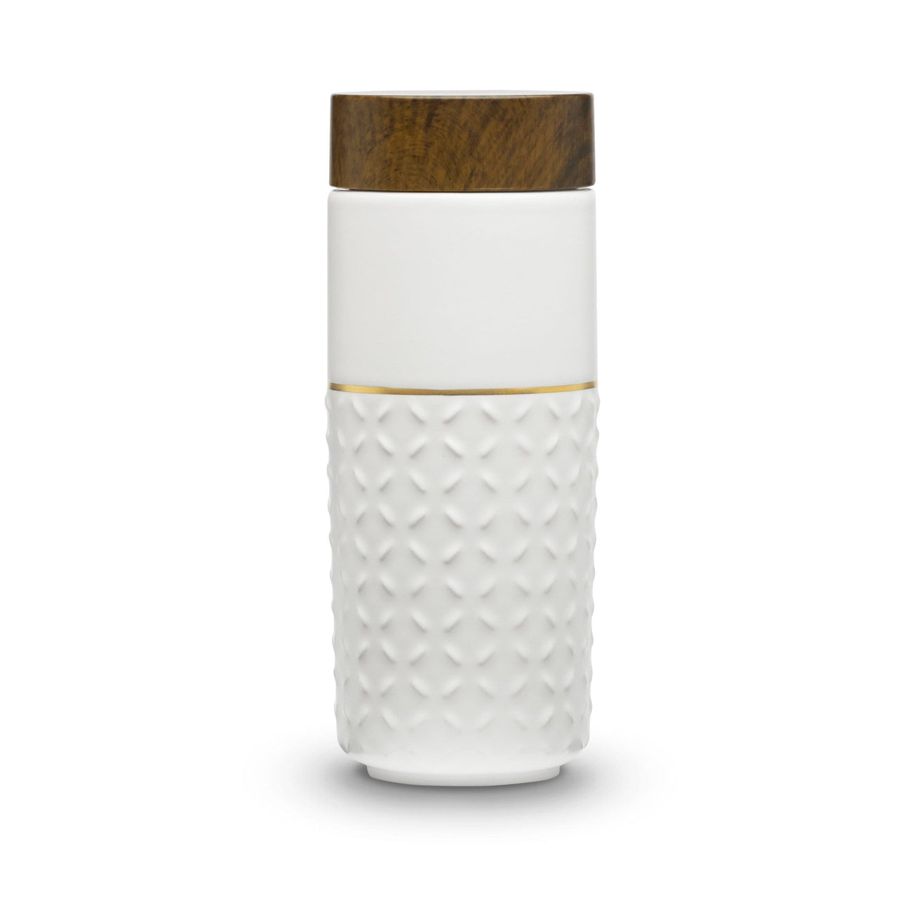 Acera Liven Flasks & Water Bottles White + Golden Line (Hand Painted) One-O-One Dreamy Starry Sky Gold Tumbler
