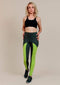 Alana Athletica Yoga 2X / Gray + Green Kickstarter Extra High-Rise Legging
