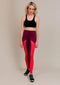 Alana Athletica Yoga 2X / Red + Purple Kickstarter Extra High-Rise Legging