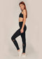 Alana Athletica Yoga High-Rise Stripe Active Legging