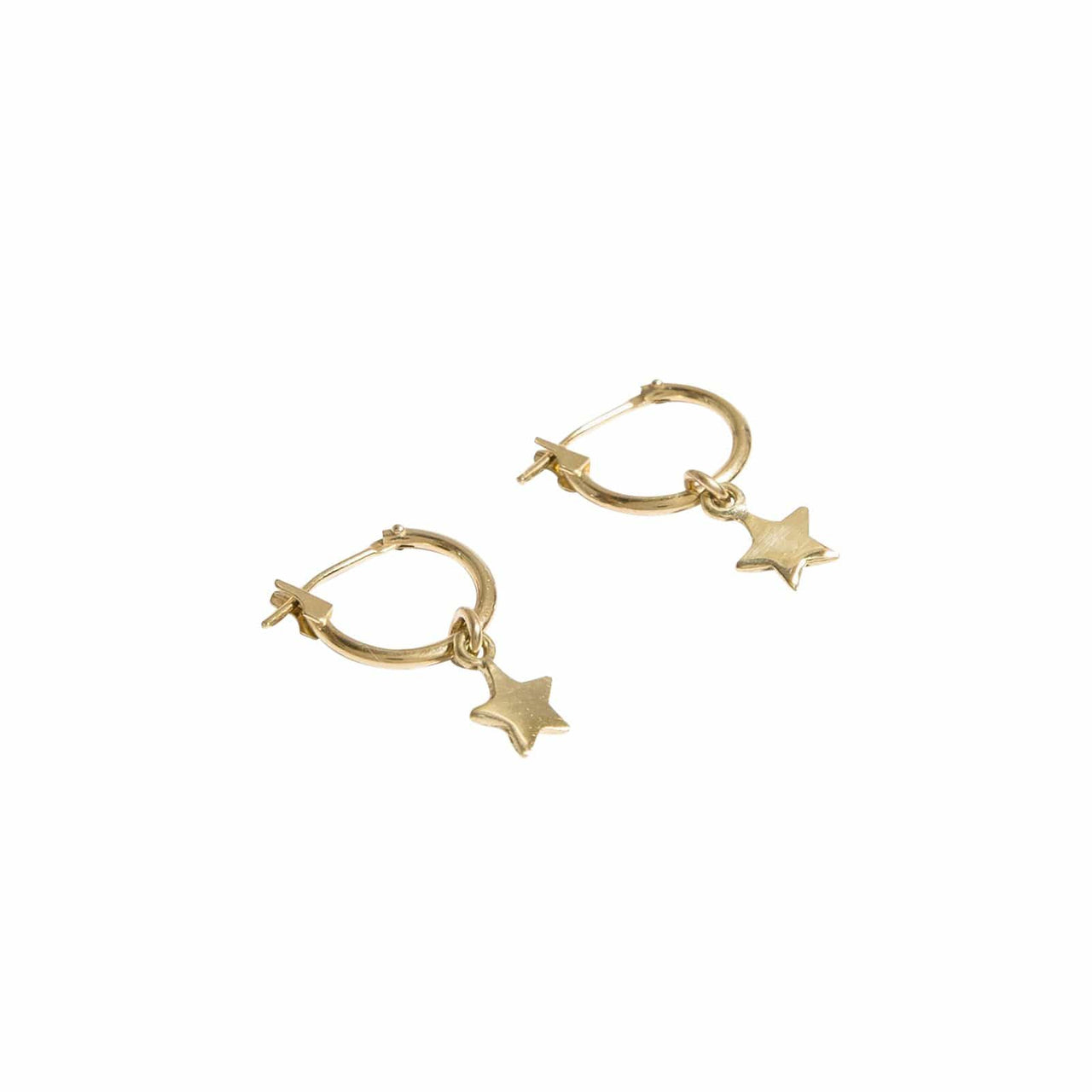 AMARILO Earrings Star Hoops