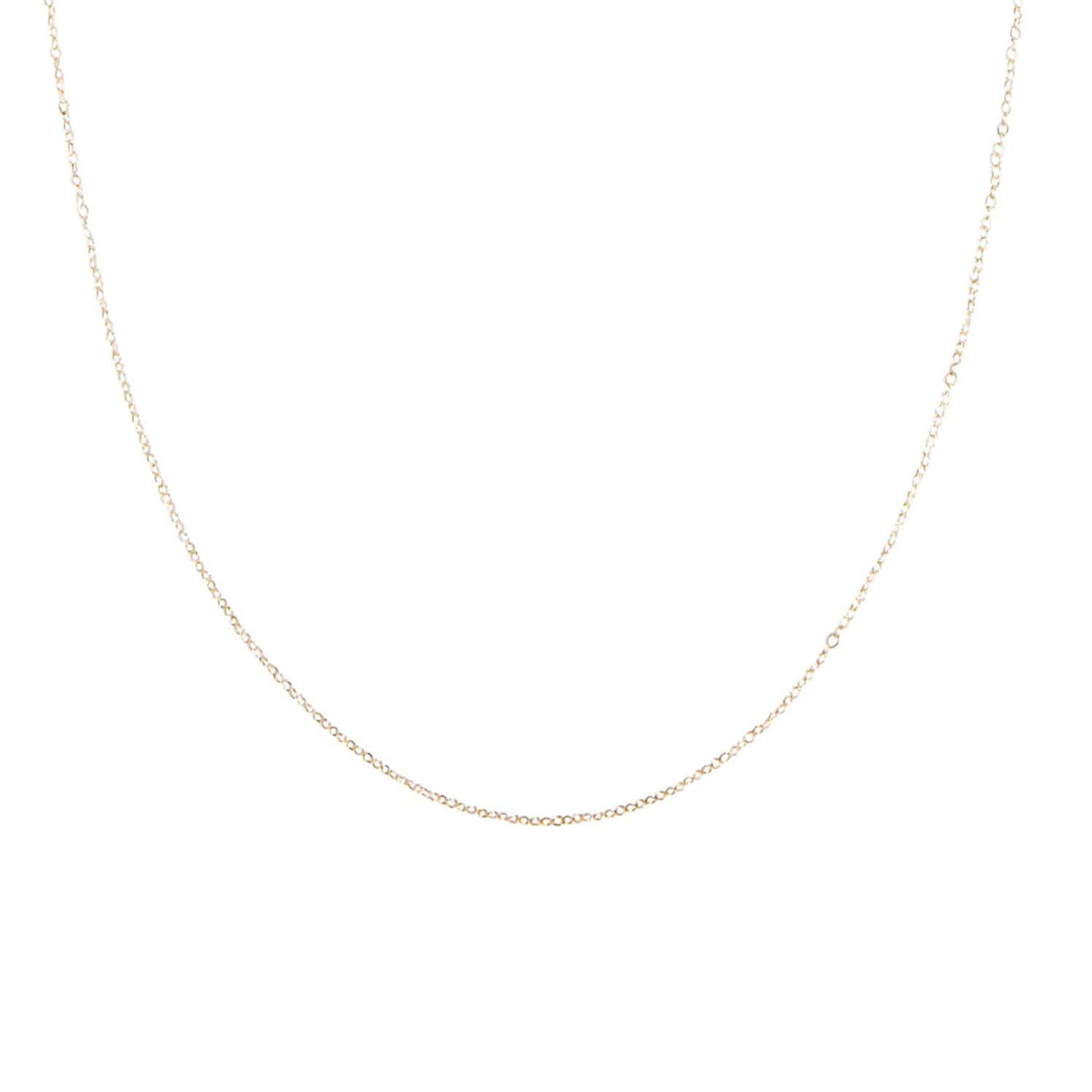 "AMARILO Necklaces 14k yellow gold / 16"" Alisha Chain"