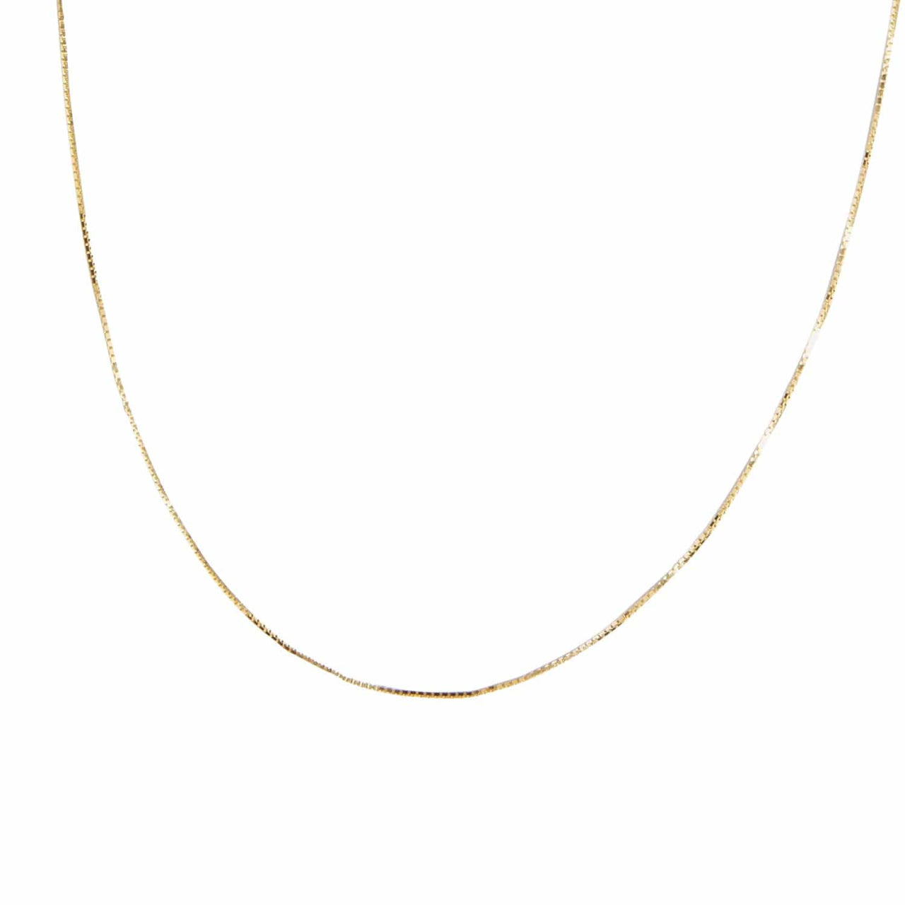 "AMARILO Necklaces 14k yellow gold / 18"" Jules Chain"