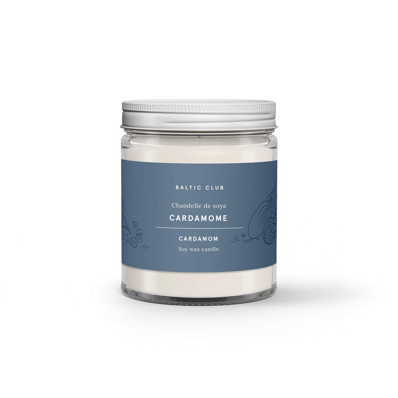 Baltic Club Candles Cardamom Candle