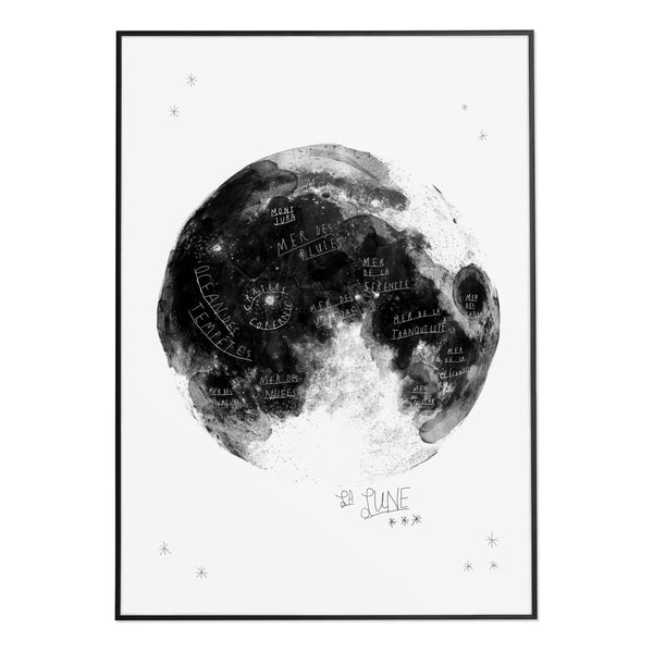 Baltic Club Photography & Prints Moon Art Print
