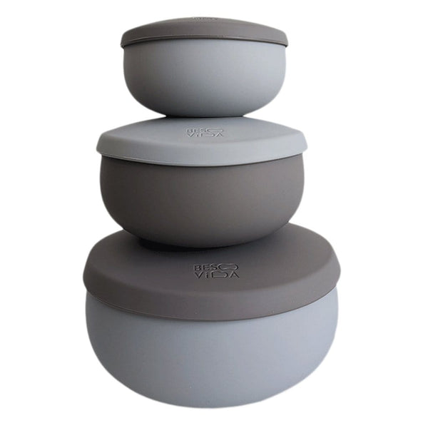 BesoVida Kitchen Rocky Gray Triple Set