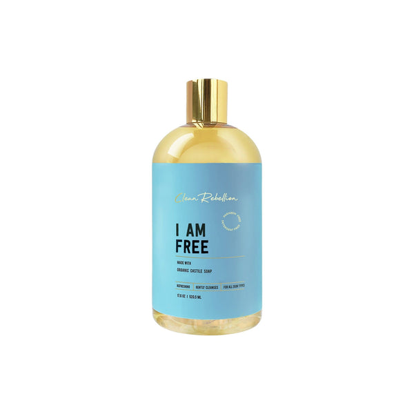 Clean Rebellion Body I Am Free Castile Soap