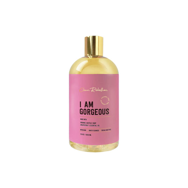 Clean Rebellion Body I Am Gorgeous Castile Soap