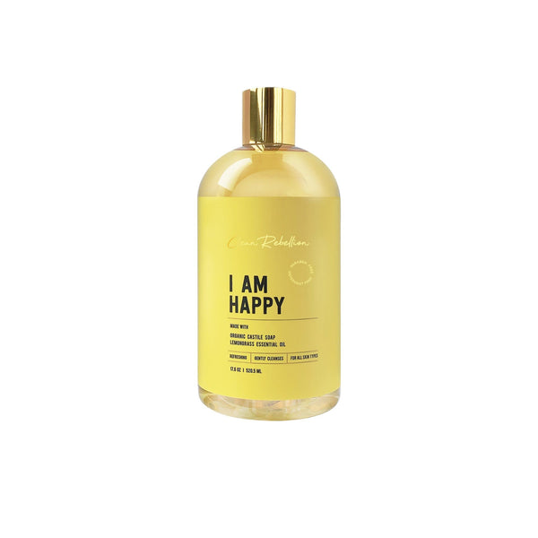 Clean Rebellion Body I Am Happy Castile Soap