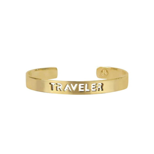CRISTINA RAMELLA Bracelets Gold Plated / Medium Traveler Bangle Bracelet