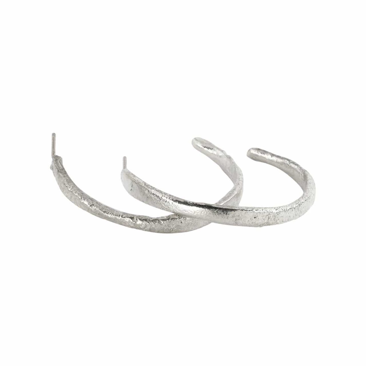Gabriela Ortiz Earrings Fusion Integration Hoop Earrings