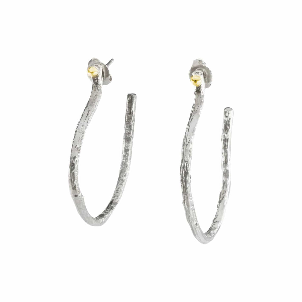 Gabriela Ortiz Earrings Fusion Junction Hoop Earrings