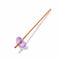 Gem-Water Co Kitchen Amethyst Crystals for Humanity Rose Gold Straw