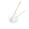 Gem-Water Co Kitchen Clear Quartz Crystals for Humanity Rose Gold Straw