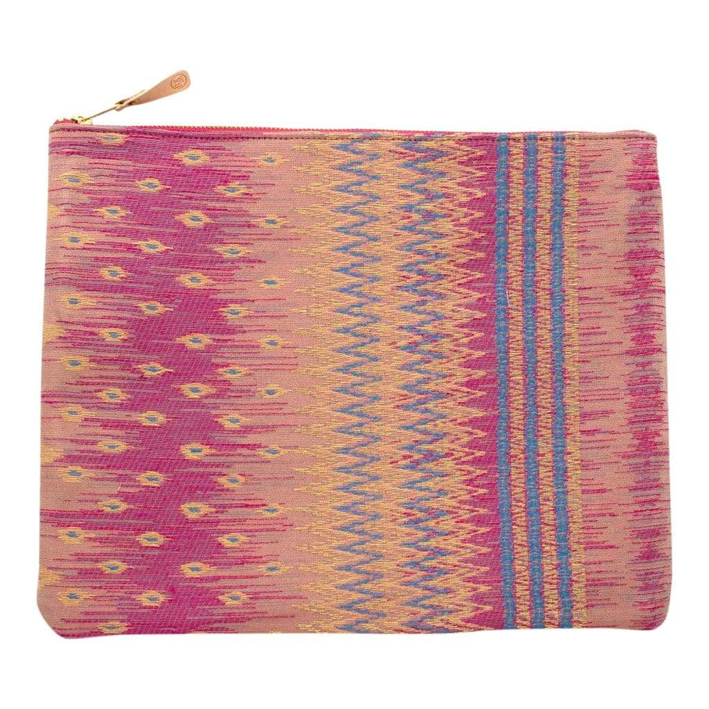 General Knot & Co. Laptop Cases & Sleeves One Size / Multi Large Vintage Thai Tapestry Laptop Sleeve/ Carryall