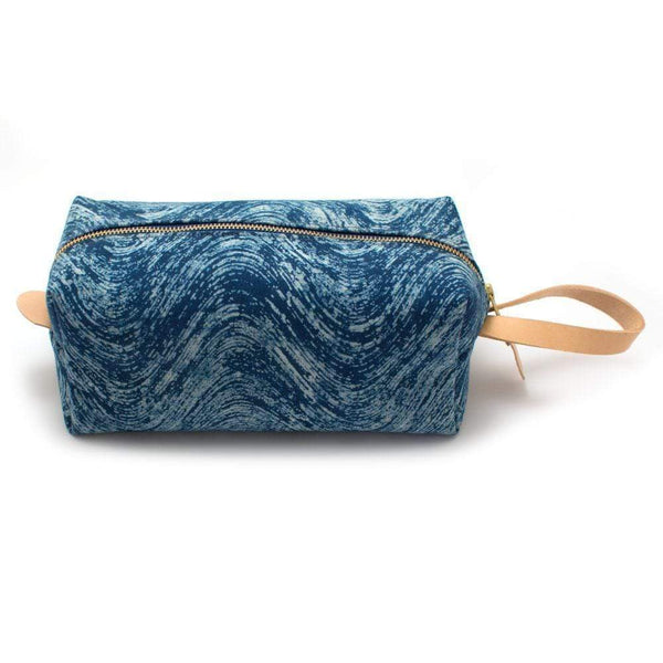 General Knot & Co. Wallets, Pouches & Accessories One Size / Blue Indigo Waves Block Print Travel Kit