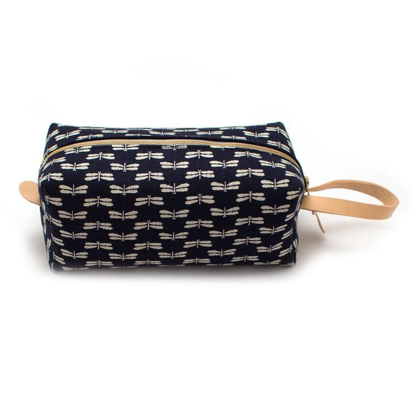 General Knot & Co. Wallets, Pouches & Accessories One Size / Navy Indigo Dragonflies Travel Kit