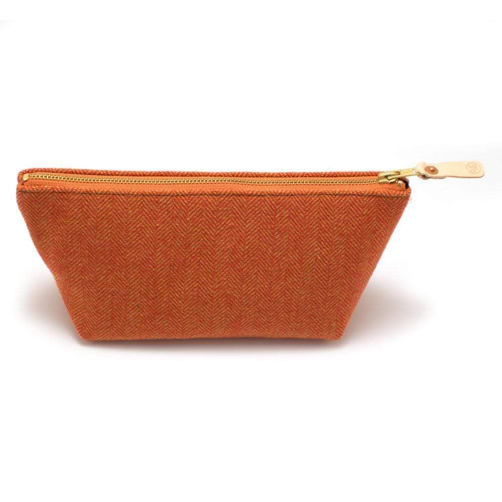 General Knot & Co. Wallets, Pouches & Accessories One Size / Orange/Yellow Smithfield Herringbone Travel Clutch