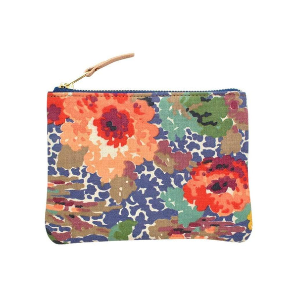 General Knot & Co. Wallets, Pouches & Accessories Vintage Indian Head Floral Small Carryall