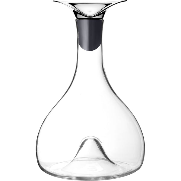 Georg Jensen Decanters Wine & Bar Glass & Stainless Steel Carafe