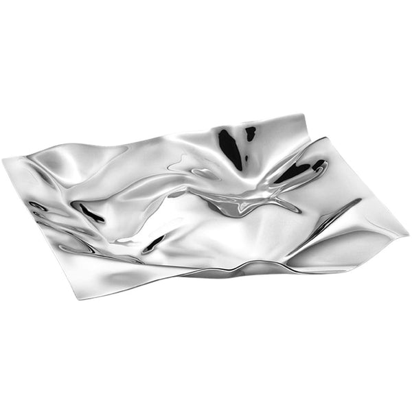 Georg Jensen Servewear Panton Medium Stainless Steel Tray