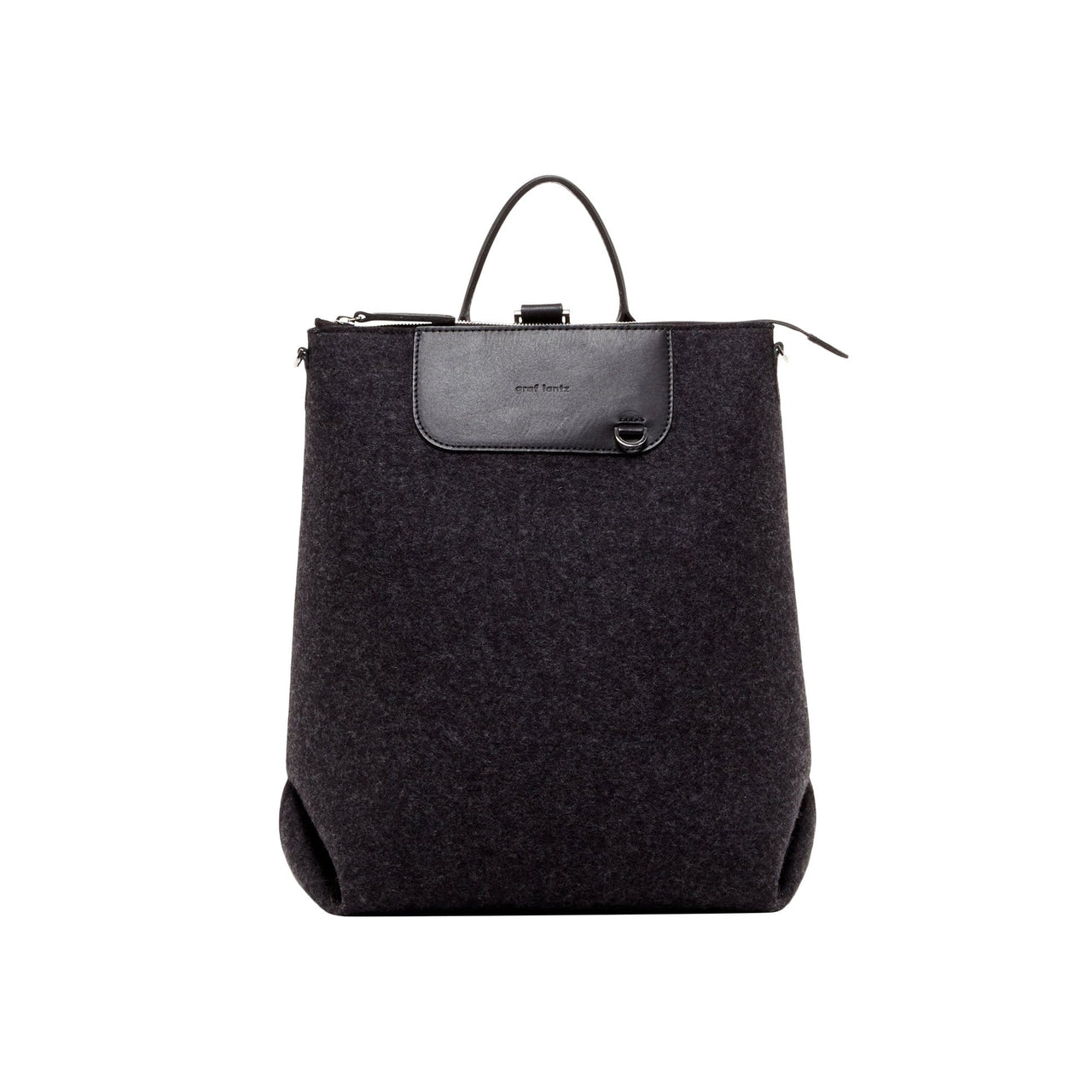 Graf Lantz Backpacks Charcoal Charcoal Bedford Felt Backpack