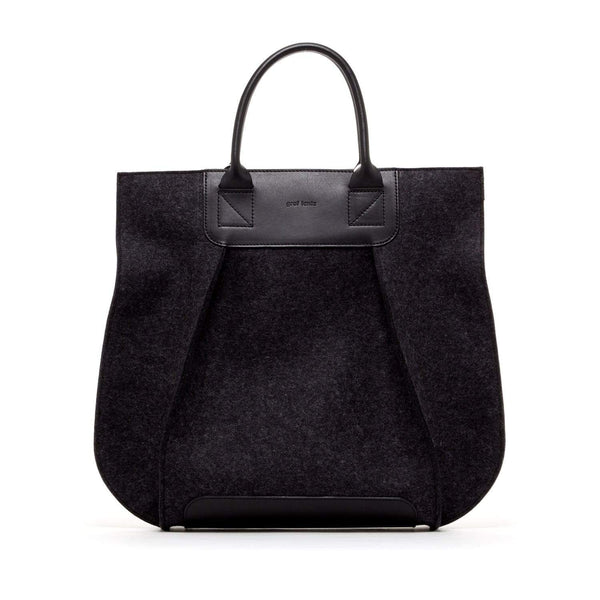Graf Lantz Tote Bags Charcoal Frankie Charcoal Tote