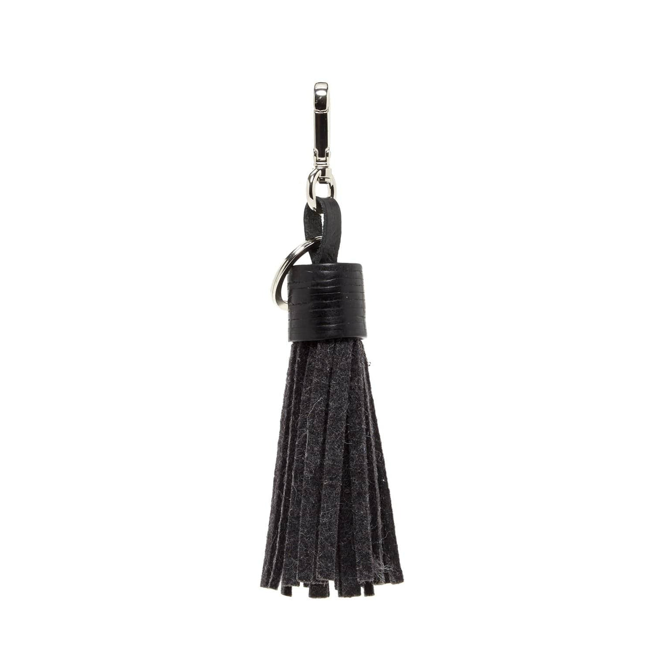 Graf Lantz Wallets, Pouches & Accessories Charcoal Felt Charcoal Tassel