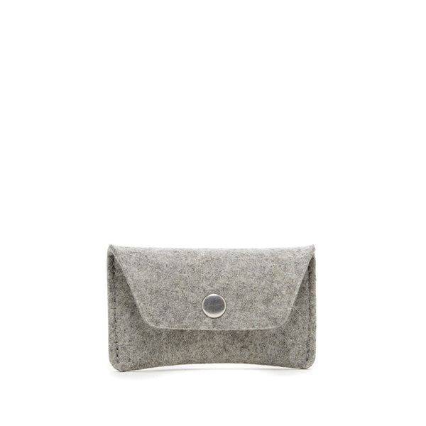 Graf Lantz Wallets, Pouches & Accessories Granite Card Wallet Granite Felt