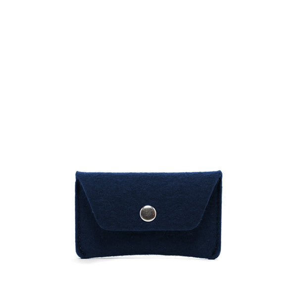 Graf Lantz Wallets, Pouches & Accessories Marine Card Wallet Marine Felt