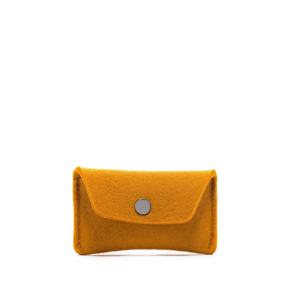 Graf Lantz Wallets, Pouches & Accessories Turmeric Card Wallet Turmeric Felt