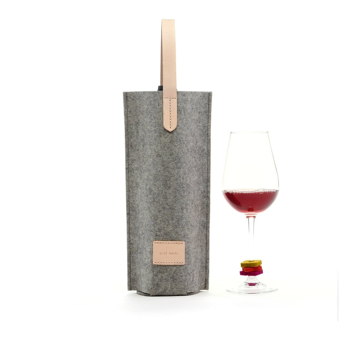 Graf Lantz Wine & Food Carriers Granite Wine Lover's Set Single Carrier