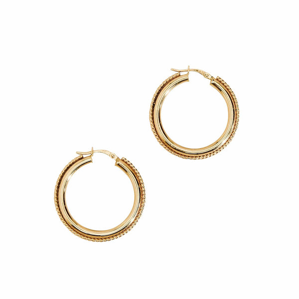 Haati Chai Earrings A Night In Mumbai Hoop Earrings