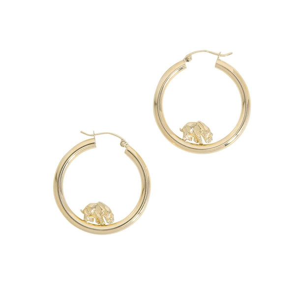 Haati Chai Earrings Haati Hoops