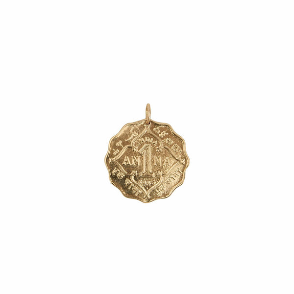 Haati Chai Necklaces Anna Coin Pendant