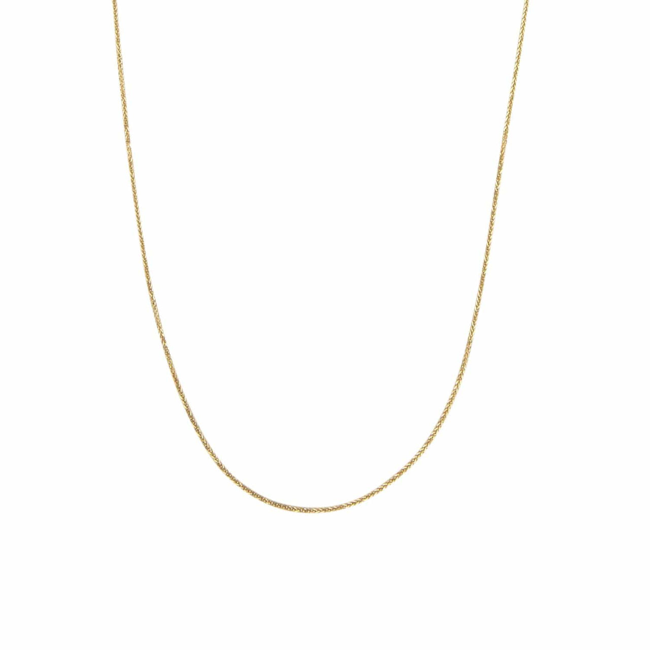 Haati Chai Necklaces Diamond Cut Chain