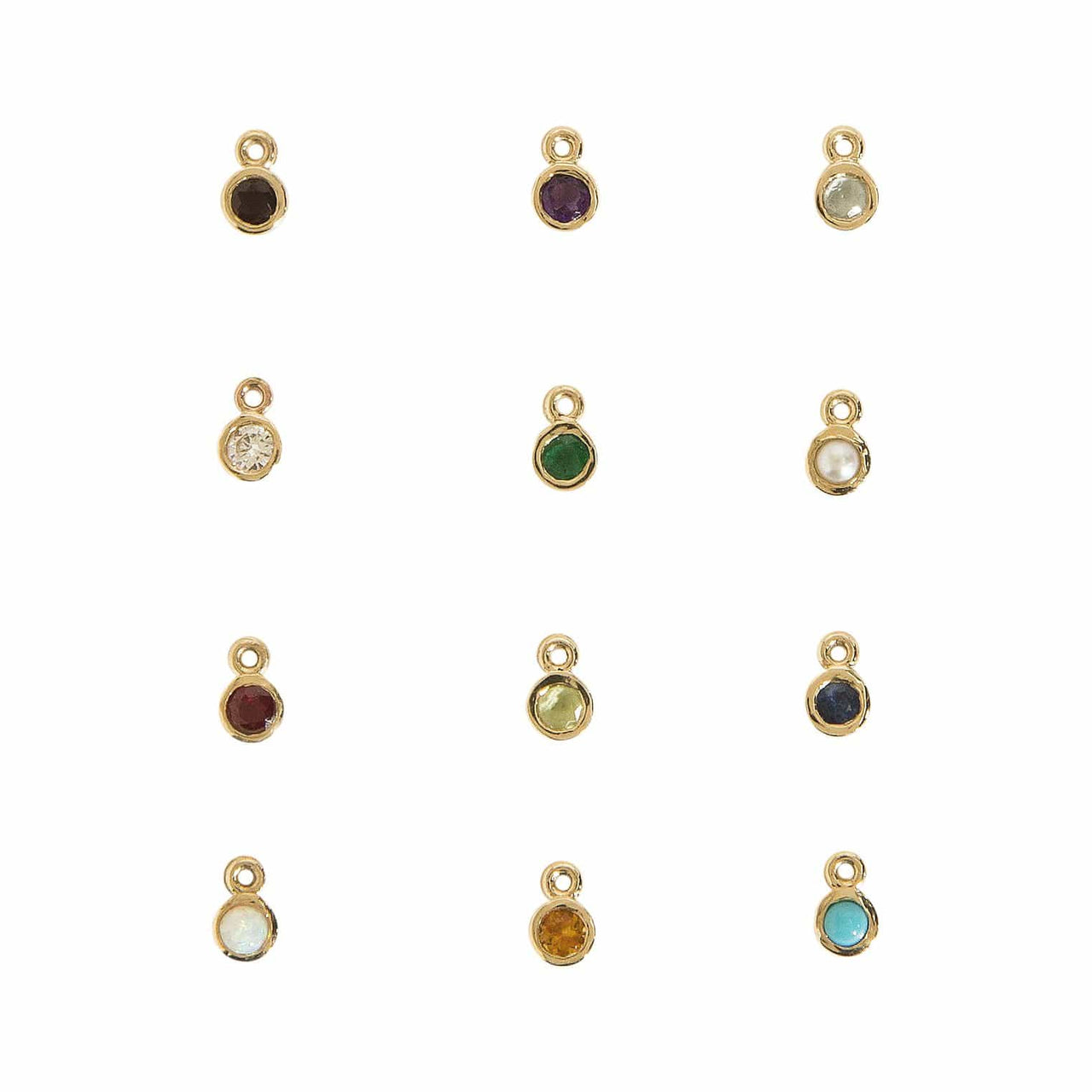 Haati Chai Other Jewelry Birthstone Charm