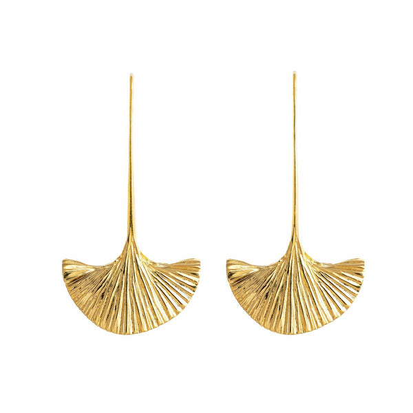 Hissia Earrings Carmen Spanish Fan Drop Earrings